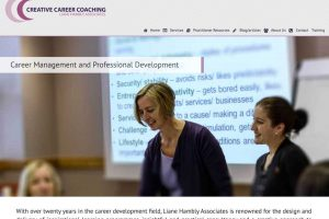 Creative Career Coaching Website Design